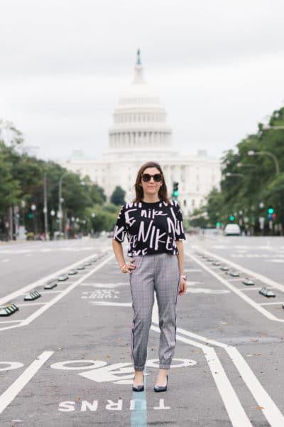 fashion bloggers wearing nike t shirt kappa deltas-40