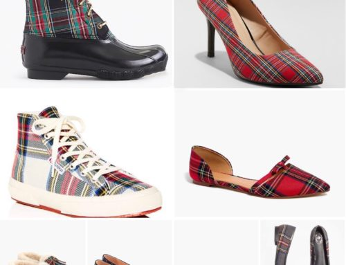 Tuesday Shoesday- Mad for Plaid Edition